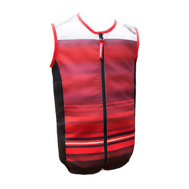Marker Body Vest Youth MAP Ryggskydd 2018 - Red/Orange/White - Blacksnow