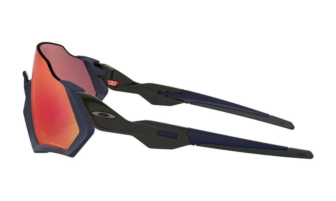 Oakley Flight Jacket Matte Navy Prizm Road Solbriller