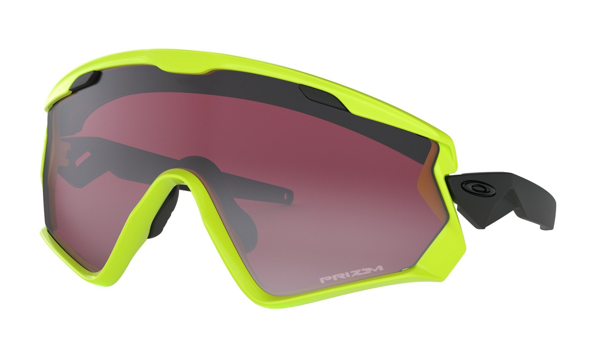 Oakley Wind Jacket 2.0 Neon Retina / Prizm Black Iridium thumbnail