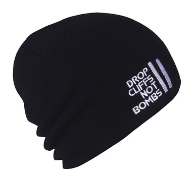 Planks Drop Cliffs Original Beanie 2019 Black Black AHE-DROP905