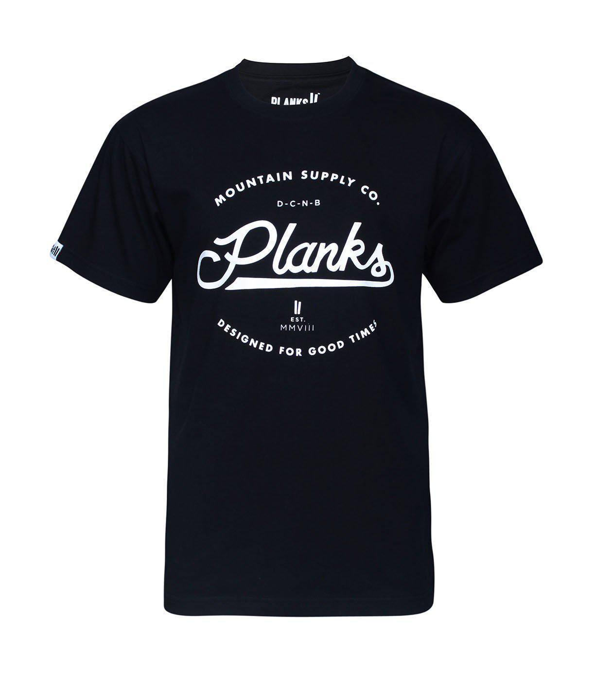 planks clothing – Planks mountain supply t-shirt fra blacksnow.dk