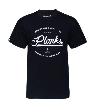 Planks Mountain Supply T-Shirt 2018 Small - Blacksnow.dk