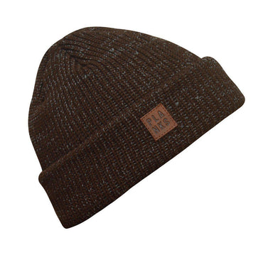 Planks Team Beanie 2018 Heather Brown - Blacksnow.dk