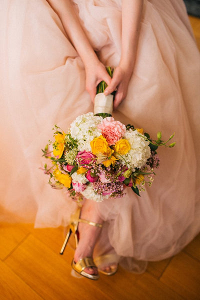 bridal bouquet spring