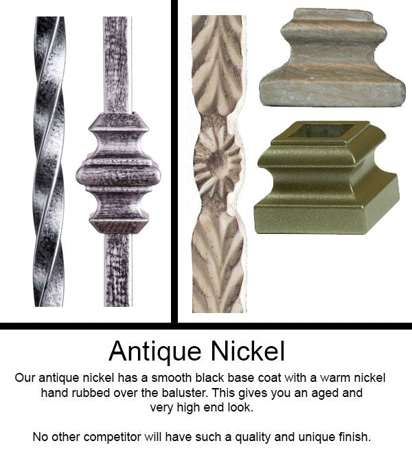 Antique Nickel Finish – Truly Unique