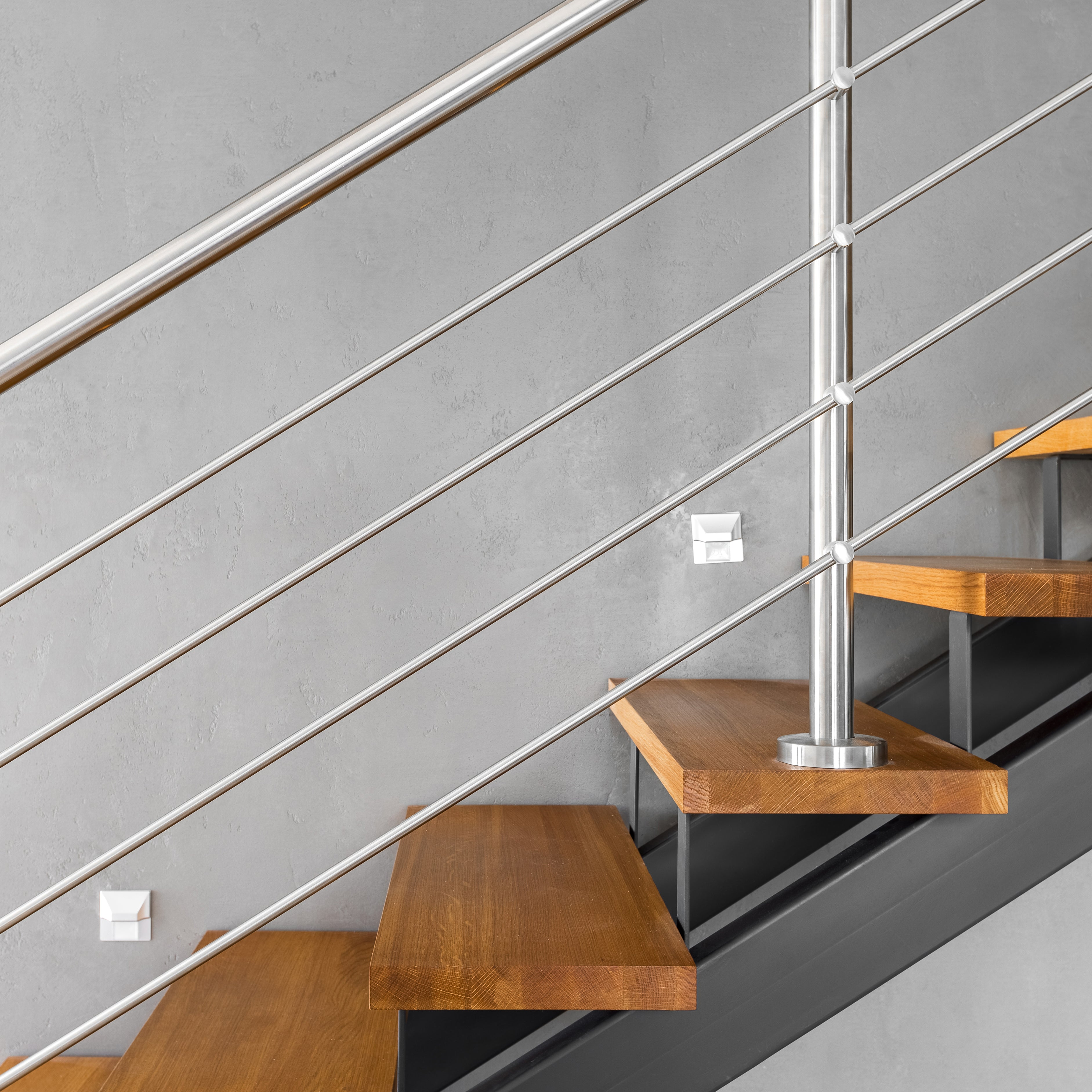 Stair Design Budget And Important Things To Consider: Shop Iron Balusters, Handrail, Treads