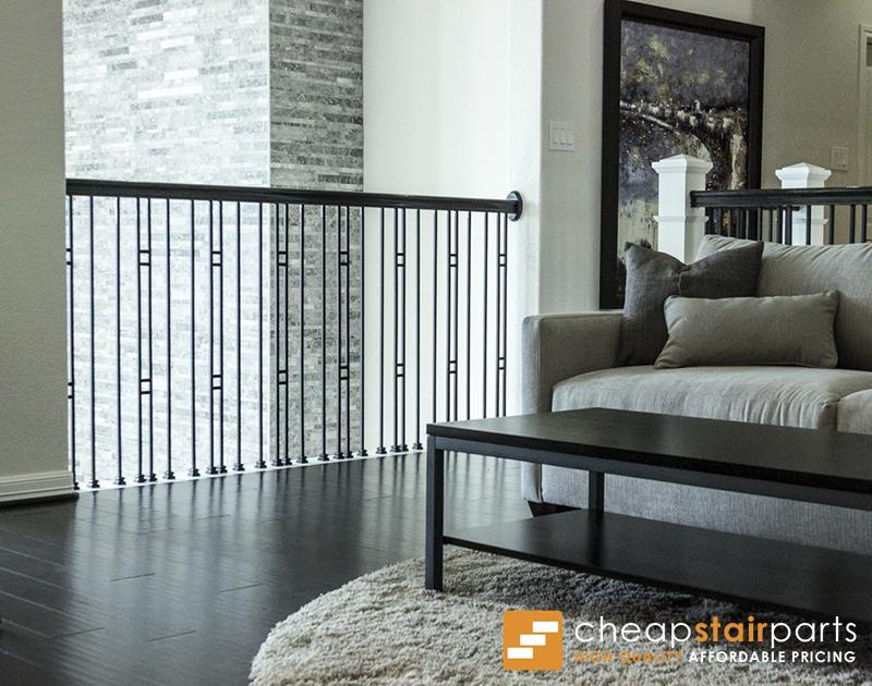 16.6.1 Double Bar Hollow Iron Baluster House of Forgings