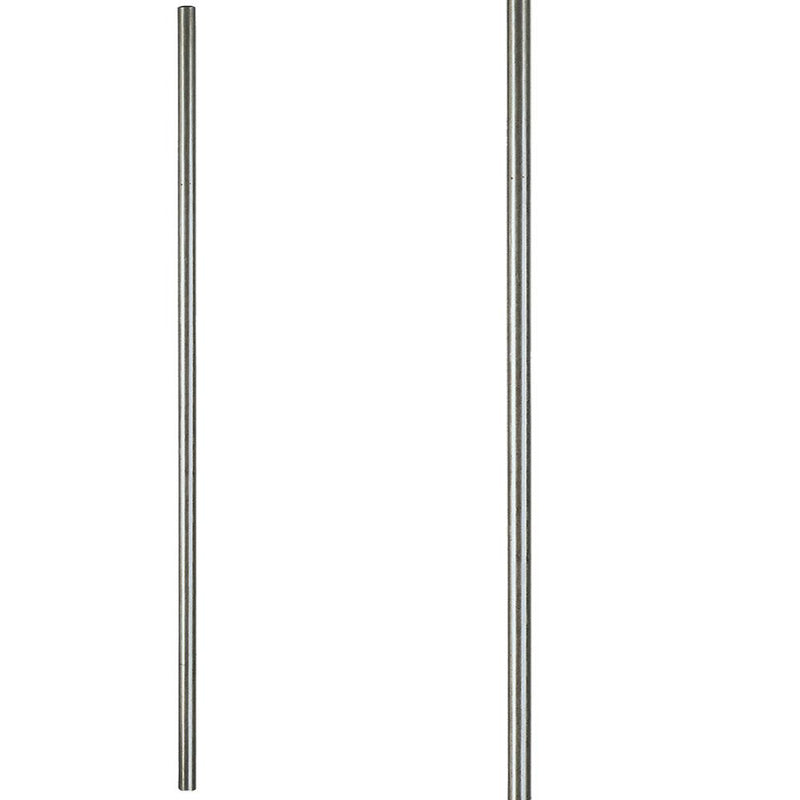 17.1.2 Plain Round Stainless Steel Solid Newel Post - Cheap Stair Parts