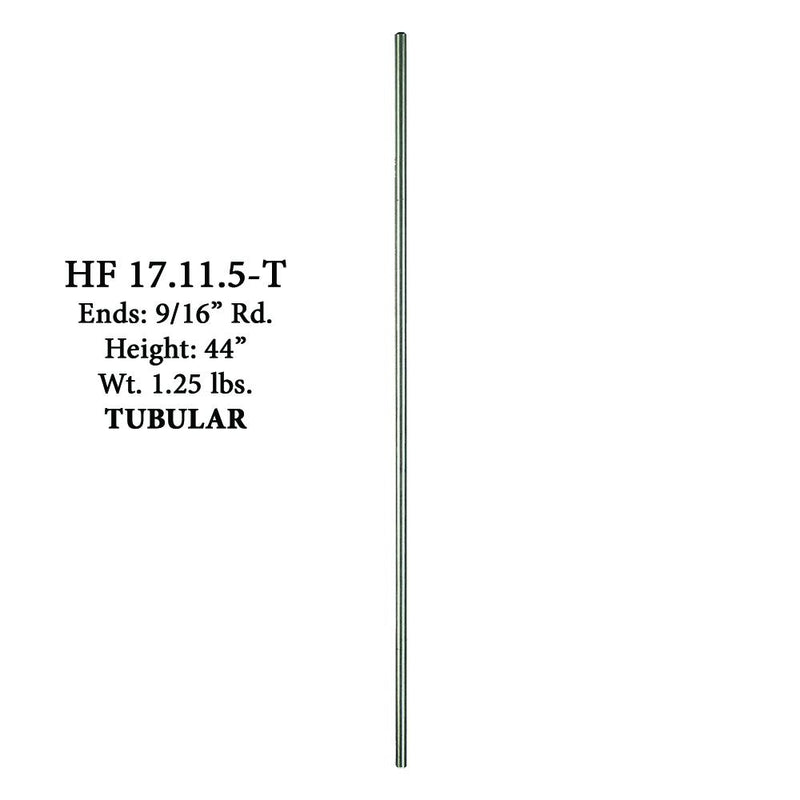 17.11.5-T Plain Round Stainless Steel Hollow Bar Stainless Steel Baluster House of Forgings