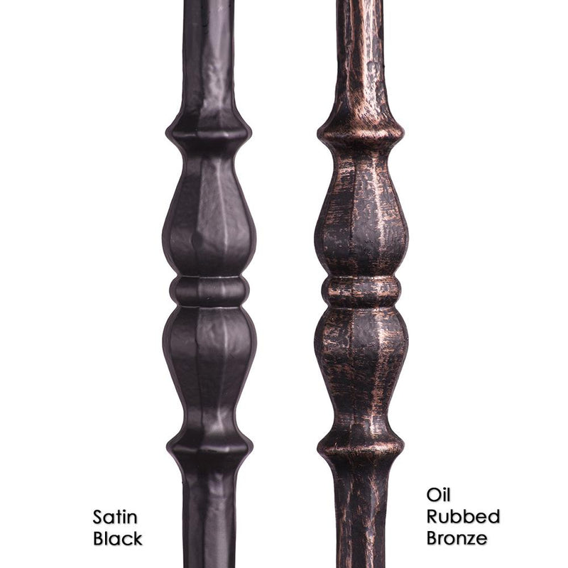 2.1.5 Long Single Knuckle Iron Baluster - Cheap Stair Parts