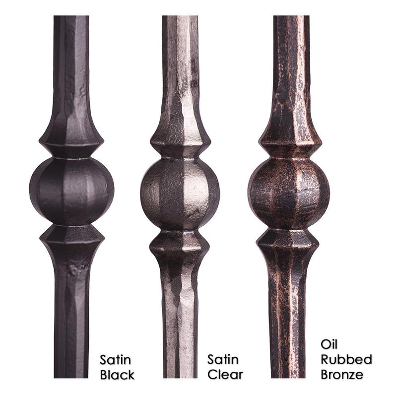 2.10.2 Single Sphere Iron Baluster Iron Baluster House of Forgings