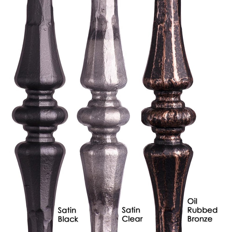 2.6.7 Single Tapered Knuckle Iron Baluster Iron Baluster House of Forgings