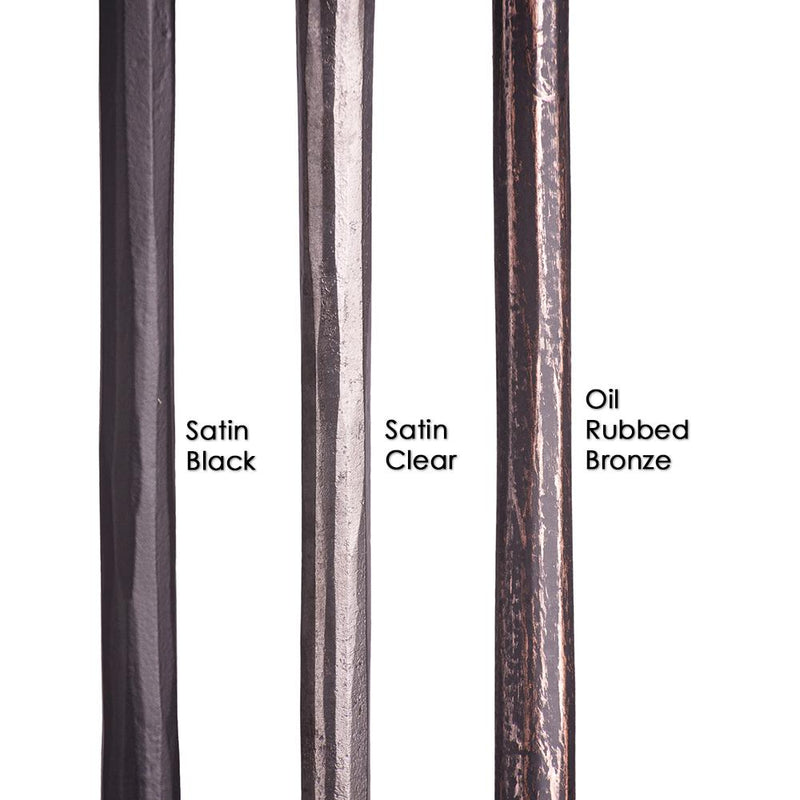 2.9.21 Plain Round Forged Bar Iron Baluster - Cheap Stair Parts