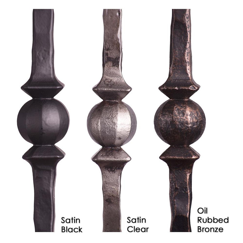 2.9.26 Double Sphere Iron Baluster - Cheap Stair Parts