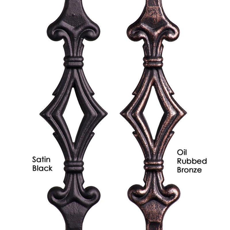 2.9.3 Single Diamond Iron Baluster Iron Baluster House of Forgings
