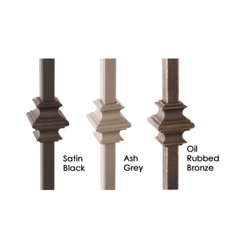 34.1.35-T MEGA Double Knuckle Hollow Iron Baluster Iron Baluster House of Forgings