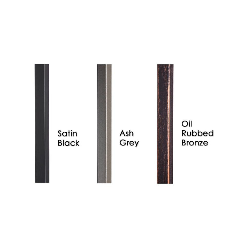34.2.1-T Plain Square Bar 3/4 in. Iron Baluster Iron Baluster House of Forgings