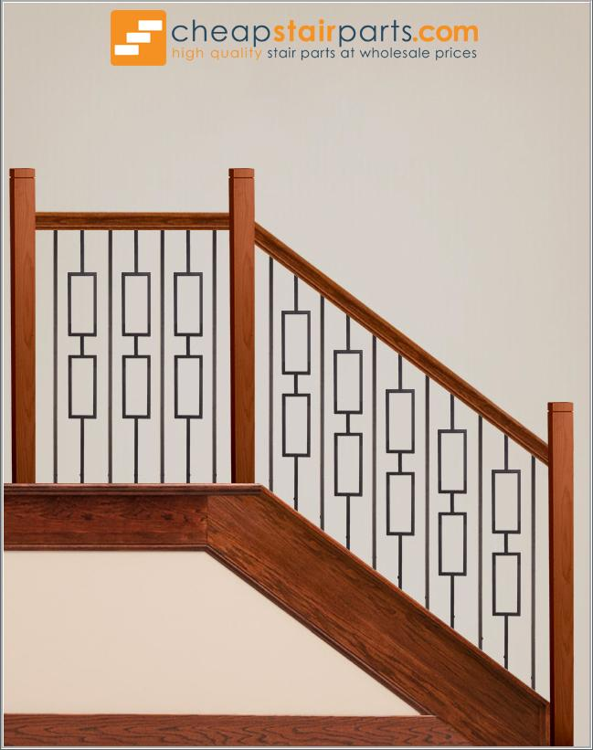 16.6.4 Double Rectangle Hollow - Cheap Stair Parts
