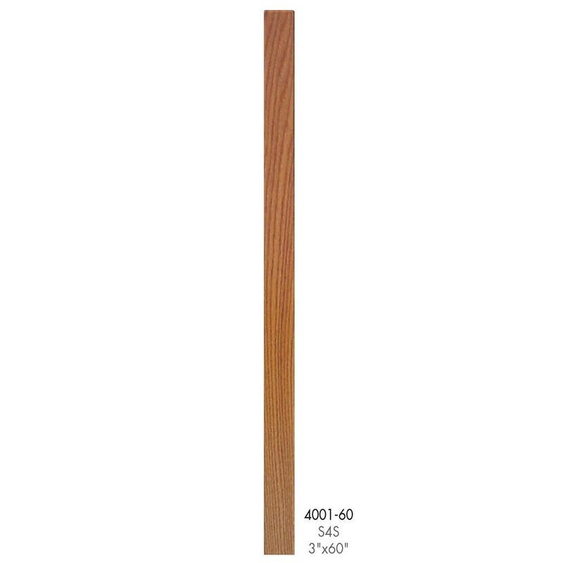 4001-60 Contemporary Style S4S Newel Post - Cheap Stair Parts