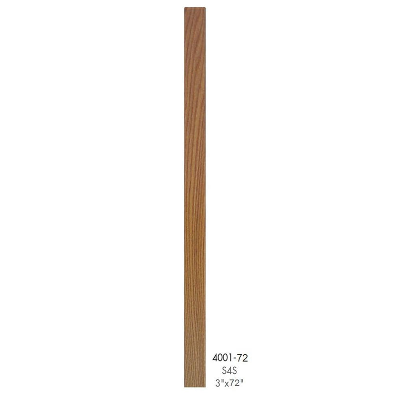 4001-72 Contemporary Style S4S Newel Post - Cheap Stair Parts