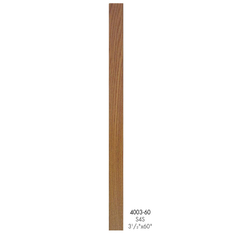 4003-60 Contemporary Style S4S Newel Post Wood Newel House of Forgings