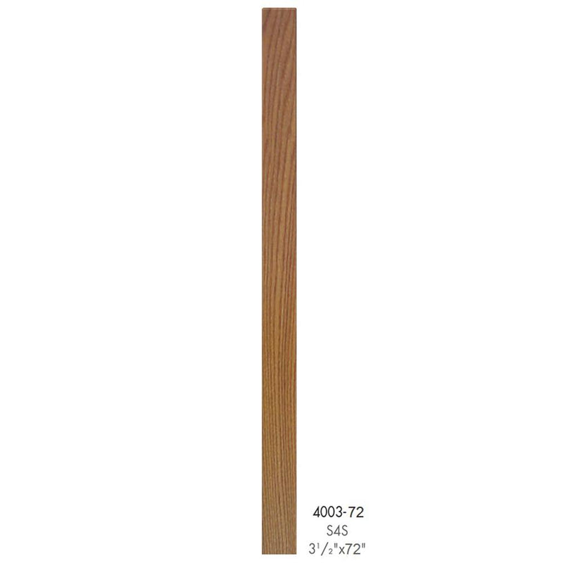 4003-72 Contemporary Style S4S Newel Post Wood Newel House of Forgings