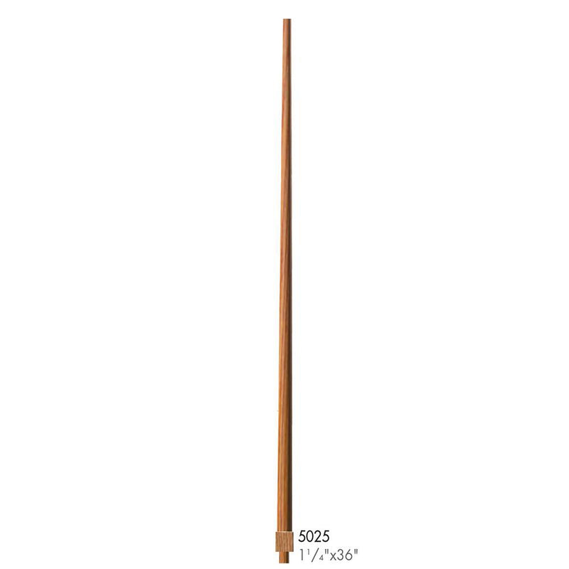 5025-36 Colonial Style Pin Top Baluster Wood Baluster House of Forgings