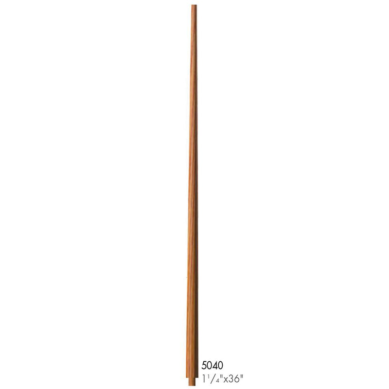 5040-36 Colonial Style Pin Top Baluster Wood Baluster House of Forgings