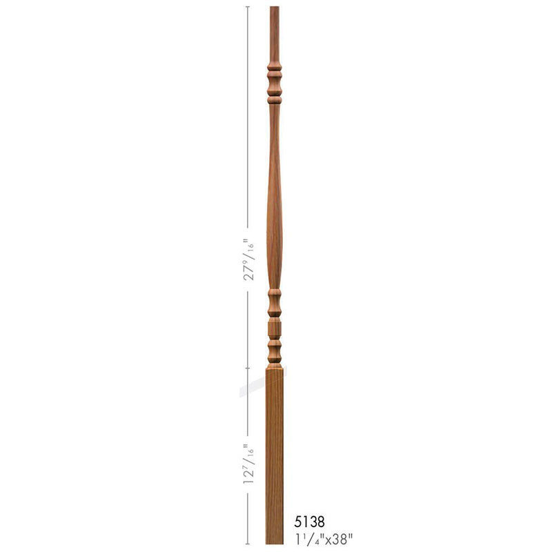 5138 Hampton Style Pin Top Baluster