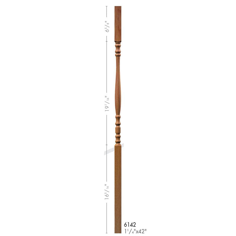 6142 Hampton Style Square Top Baluster