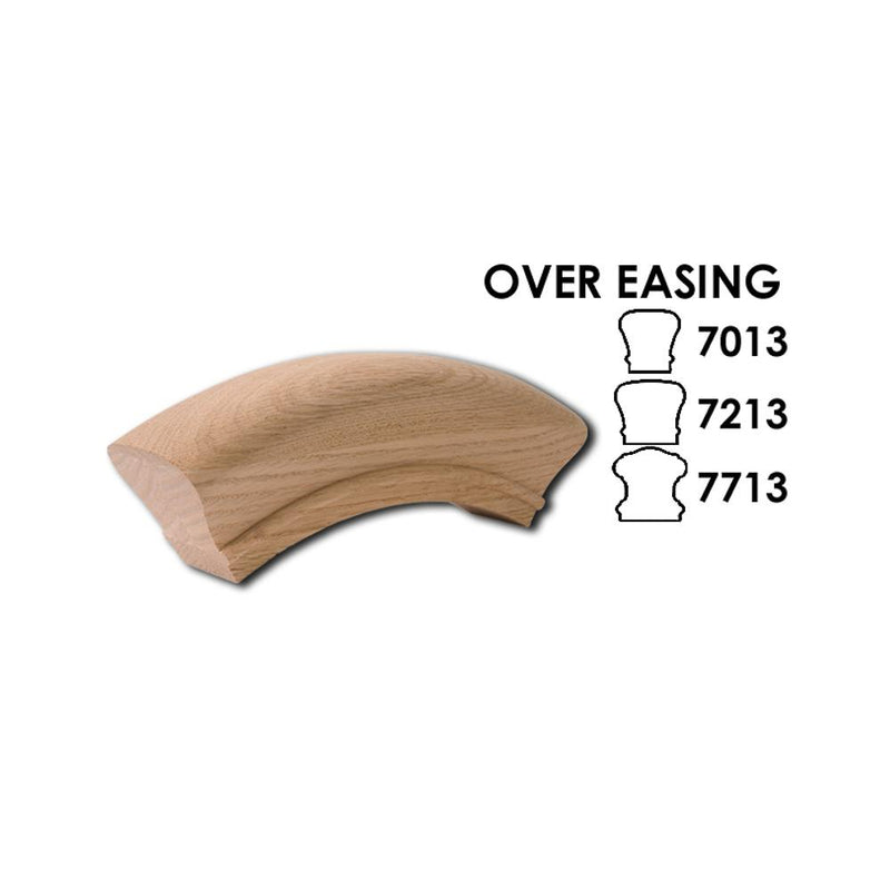 7013 Over Easing Wood Handrail Fitting Wood Handrail Fitting House of Forgings