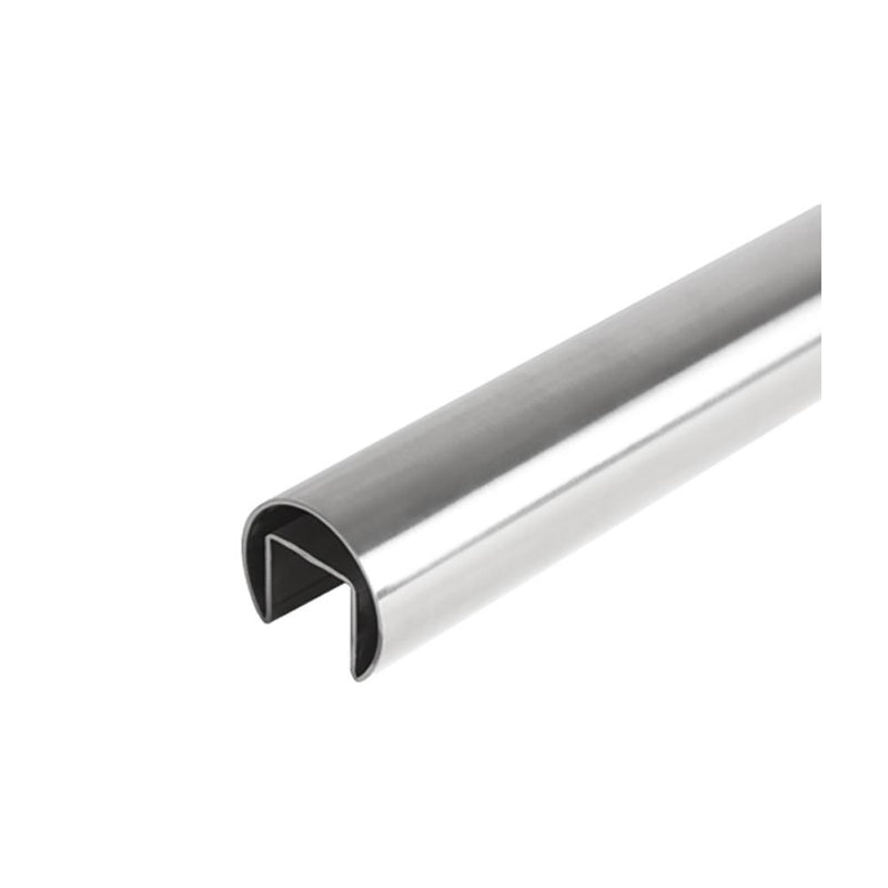 Round Glass Cap Rail – 42.4 mm x 5000 mm