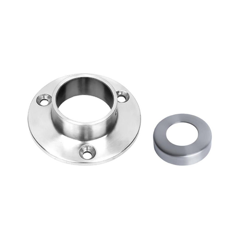 Wall Mount Flange for 42.4 mm Round Rail Round Handrail Options House of Forgings Wall Mount Flange for 42.4 mm Round Rail