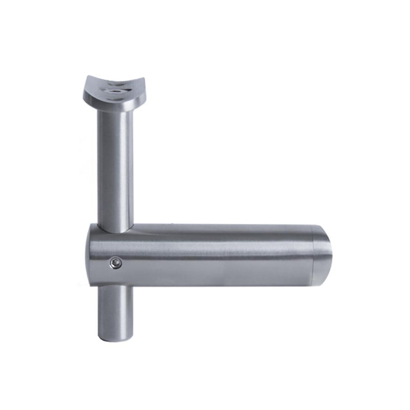 Post Handrail Support Bracket for 42.4 mm Round Rail Round Handrail Options House of Forgings