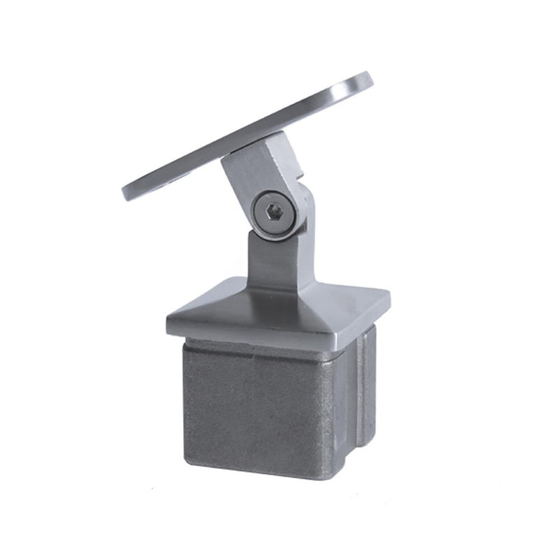 Adjustable Square Post Handrail Support