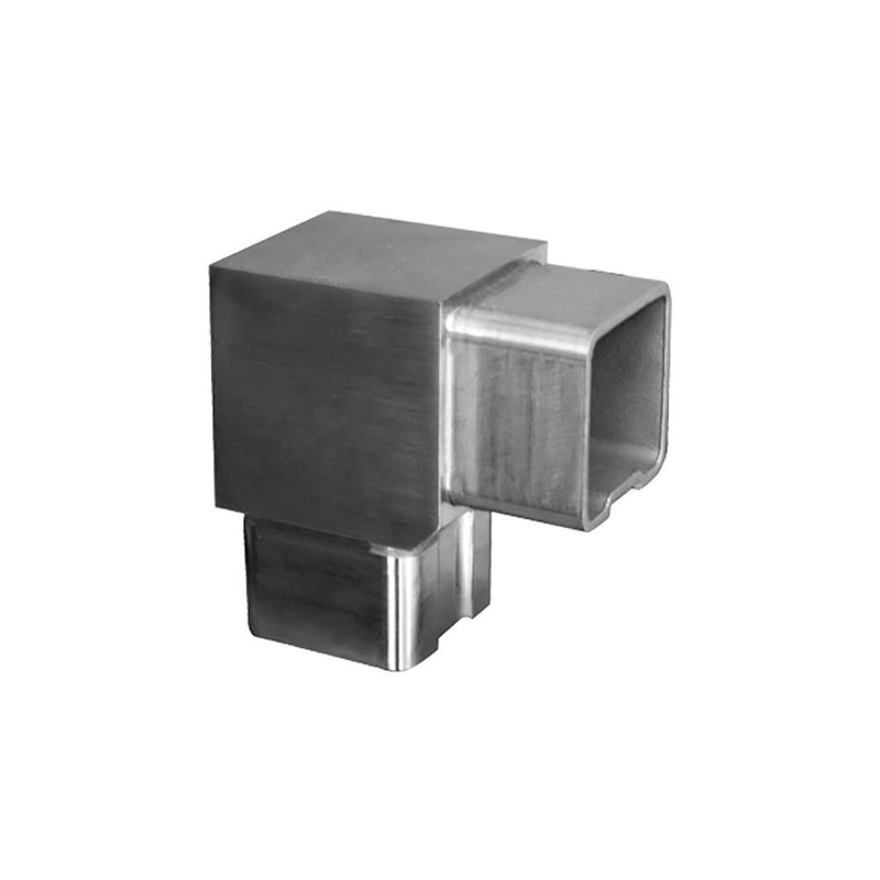 90 Degree Fitting for Square Rail – 40 x 40 x 2 mm