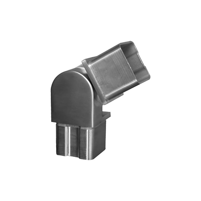 Adjustable Fitting for Square Rail – 40 x 40 x 2 mm Square Handrail Options House of Forgings