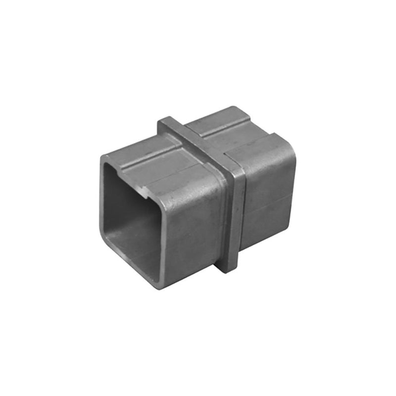 Inline Connector for Square Rail – 40 x 40 x 2 mm Square Handrail Options House of Forgings