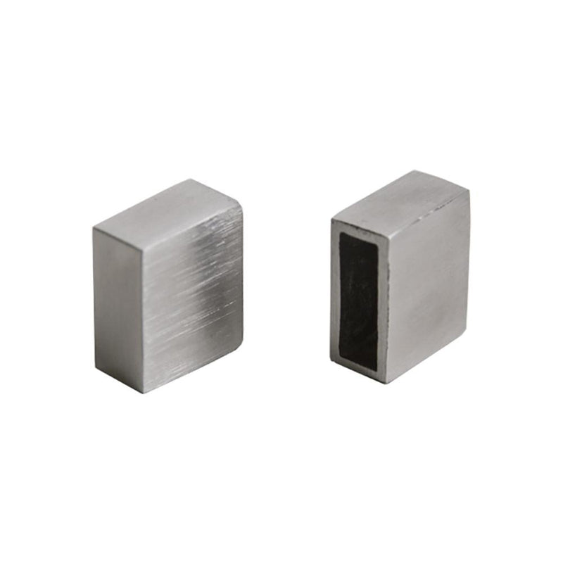 End Cap for Flat Bar Infill Square Bar Tube Infill House of Forgings