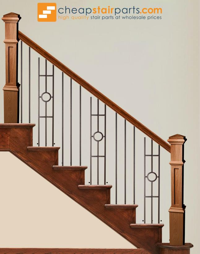 16.1.32-T Single Ring 3 Legged Panel Hollow - Cheap Stair Parts