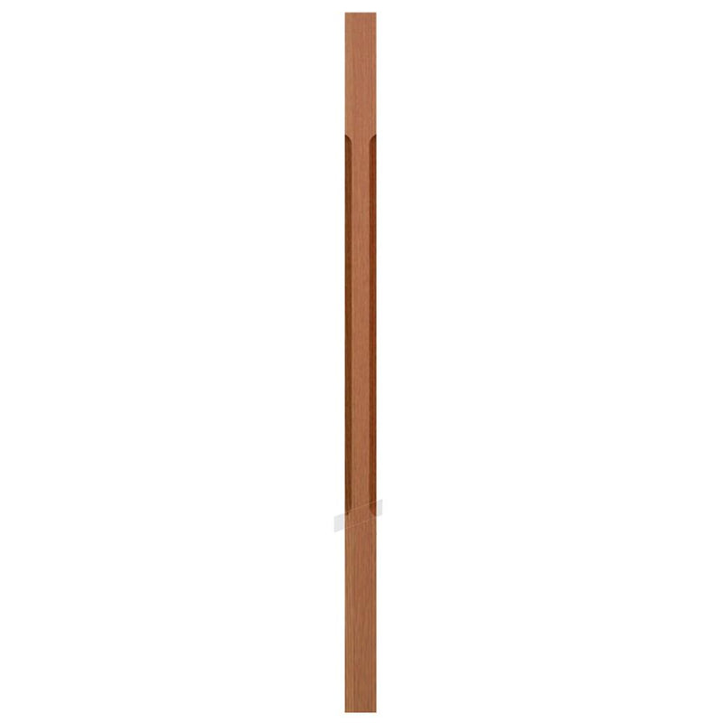 5338-C Contemporary Style S4S Chamfered Baluster