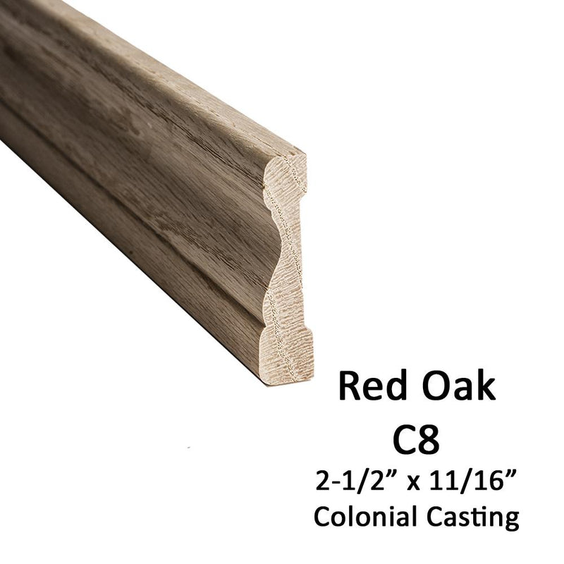 C8 – 2-1/2″ – Colonial Casing