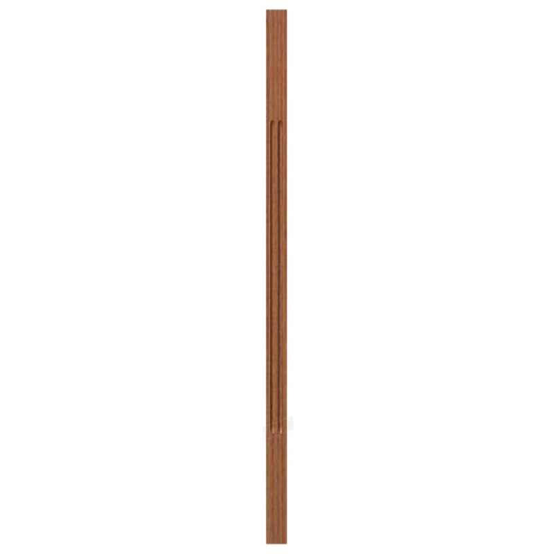 5034 Contemporary Style S4S Fluted Baluster Wood Baluster House of Forgings