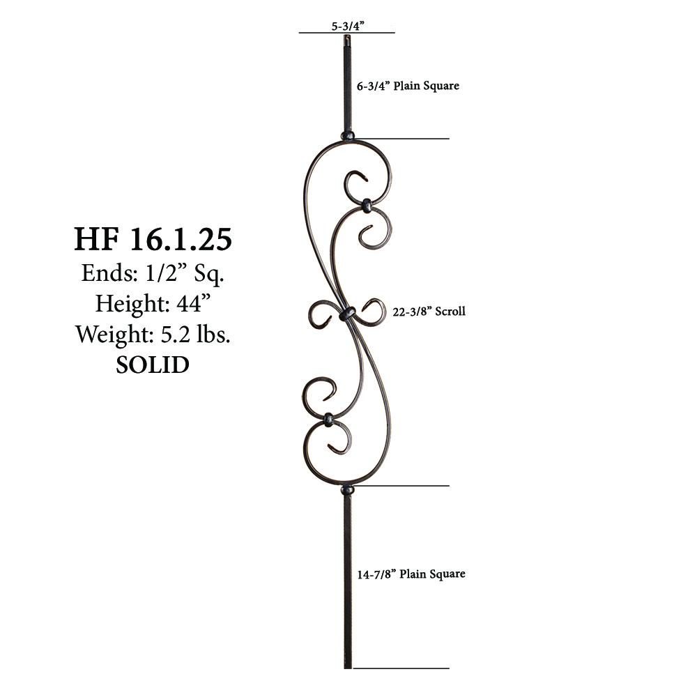 ... 16.1.25 Large Spiral Scroll   Cheap Stair Parts ...