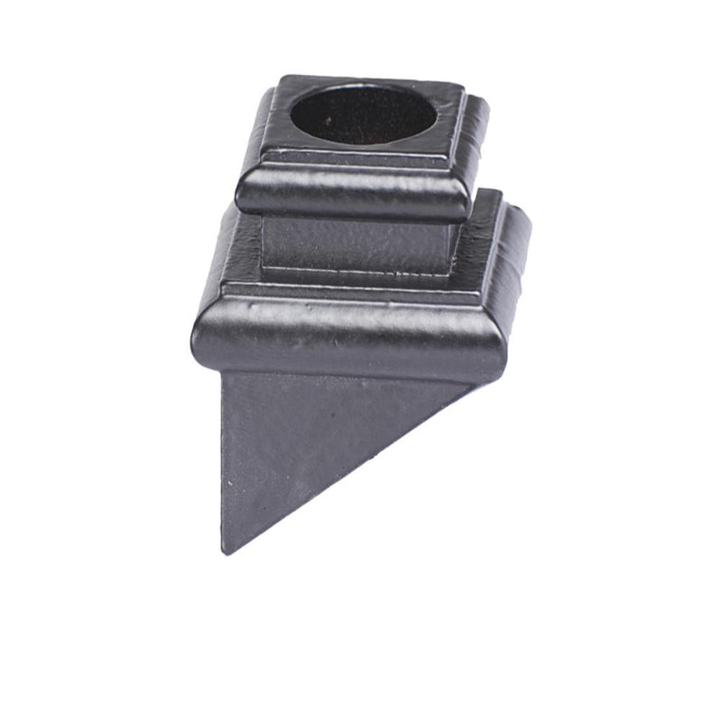 16.3.36 Round Hole Angled Base Shoe with Set Screw - Cheap Stair Parts