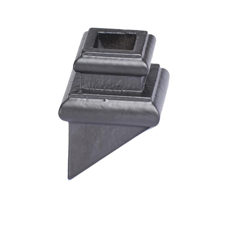 16.3.39 Square Hole Angled Base Shoe with Set Screw - Cheap Stair Parts