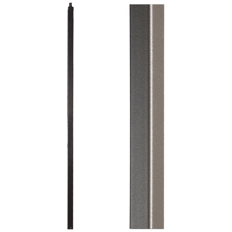 16.5.8-T Plain Square Bar Iron Newel Hollow - Cheap Stair Parts