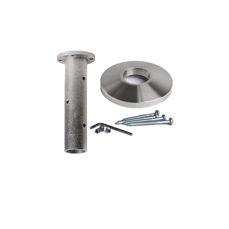 17.2.3 Stainless Steel Newel Post Mounting Kit Stainless Steel Newel Post Mounting Kit House of Forgings
