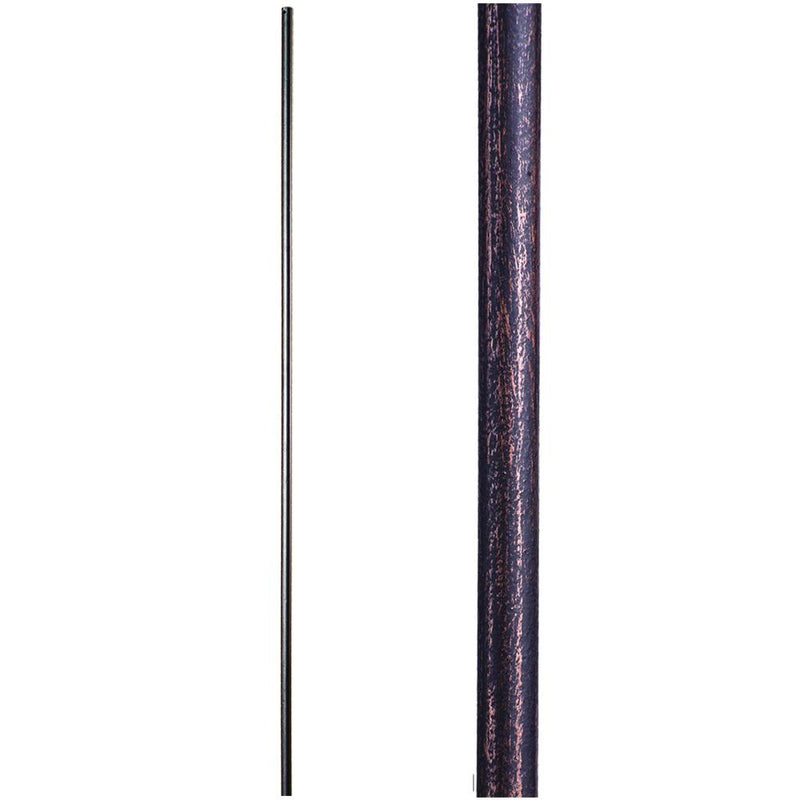2.8.18 Plain Round Bar Iron Baluster - Cheap Stair Parts