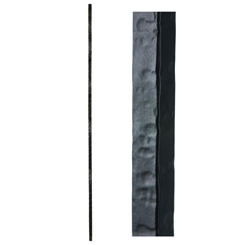 3.2.1 Wentworth Plain Hammered Bar Iron Baluster House of Forgings